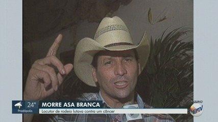 Morre Asa Branca, locutor que revolucionou os rodeios no Brasil