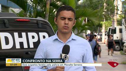 Dois suspeitos são feridos pela polícia em Planalto Serrano, na Serra