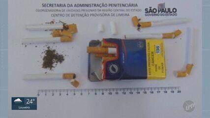 Agentes penitenciários encontram drogas em correspondências enviadas por familiares