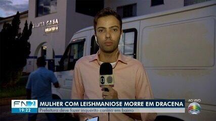 Mulher morre vítima de leishmaniose em Dracena