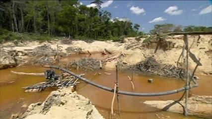 Projeto do governo regulamenta mineração em terras indígenas