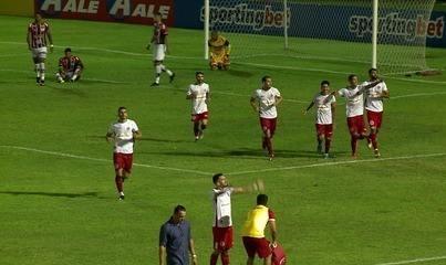Os gols de River-PI 2 x 3 América-RN pela terceira rodada da Copa do Nordeste