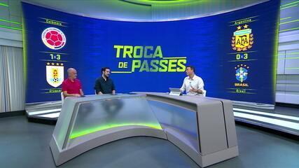 """Comentaristas analisam campanha do Brasil no Pré Olímpico e falam sobre liberações de times para os Jogos Olímpicos: """"Hoje foi diferente"""""""