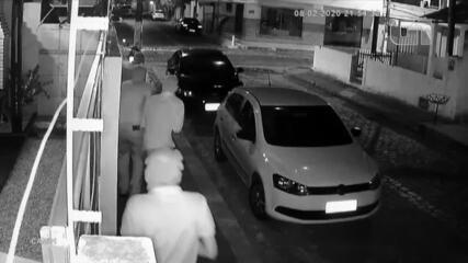 Vídeo mostra ataque a tiros que matou técnica de enfermagem em bar na Grande Natal
