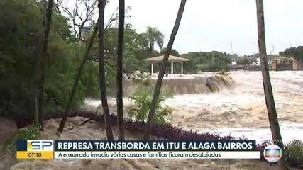 Os transtornos causados pela chuva no interior do estado