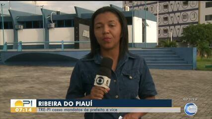 TRE cassa mandatos de prefeito e vice de Ribeira do Piauí