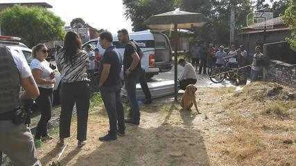 Após tentar salvar o dono, cachorro permanece ao lado do corpo em Santana do Livramento