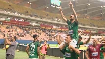 Manaus FC vence o Coritiba e avança na Copa do Brasil; veja como foi