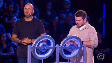 Pascoal e Giu tentam levar o prêmio do 'The Wall'