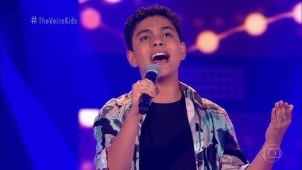 Paulo Gomiz canta 'Beauty and The Beast' nas Audições às Cegas