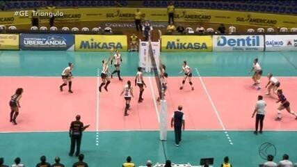 Praia Clube derrota San Lorenzo e lidera Sul-Americano Feminino de Vôlei