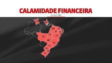 Centenas de cidades do Brasil estão à beira do colapso financeiro, aponta estudo