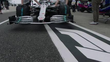 Comparação dos carros de Racing Point e Mercedes