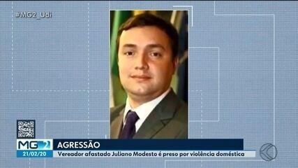 Vereador afastado Juliano Modesto é detido em Uberlândia suspeito de bater na esposa