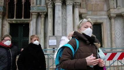 Itália registra três mortes pelo novo coronavírus e 150 casos da doença