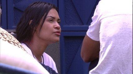 Flayslane confessa: 'Quase votei em Babu'