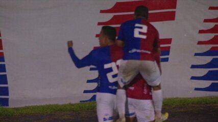 Gol do Paraná! Após cruzamento, Fabrício empata partida, aos 47' do 2º tempo