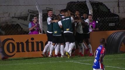 Gol do Galo! Guilherme Arana cruza para Ricardo Oliveira marcar aos 33 do segundo tempo