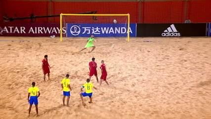 Os dois últimos campeões mundiais do futebol de areia irão se enfrentar no Verão Espetacular