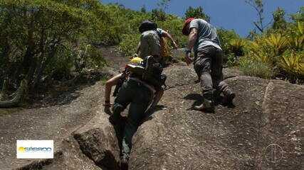 'Vai Encarar?': Gustavo Garcia escala a Pedra do Elefante, em Maricá, RJ