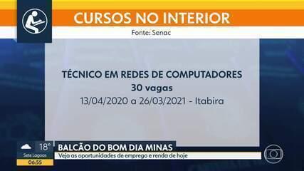 Balcão do BDMG: Senac oferece oportunidades de emprego em Minas Gerais