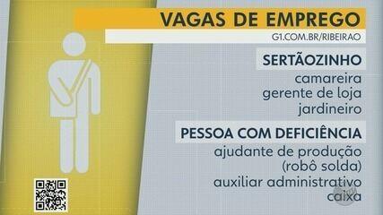 Confira as vagas de emprego desta semana na região de Ribeirão Preto