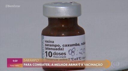 Vacina é a forma mais eficaz de evitar o sarampo