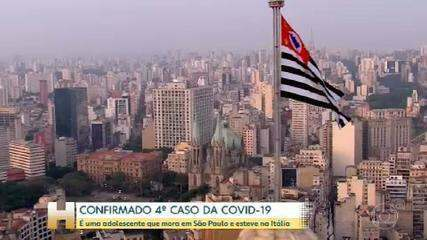 Ministério da Saúde volta atrás e confirma quarto caso de coronavírus no Brasil