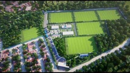 Projeto do Centro de Treinamento do Paysandu