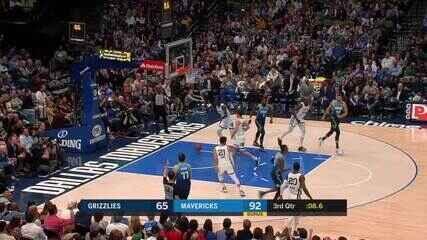 Melhores momentos: Dallas Mavericks 121 x 96 Memphis Grizzlies pela NBA