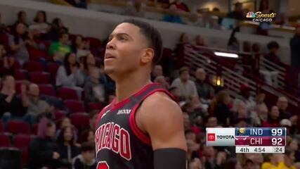 Melhores momentos: Indiana Pacers 108 x 102 Chicago Bulls pela NBA