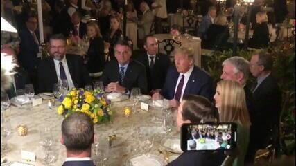 Jair Bolsonaro se encontra com Donald Trump na Flórida