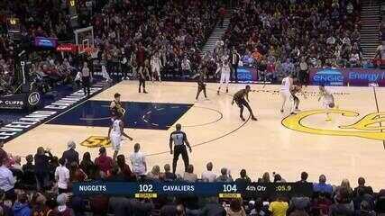 Melhores momentos: Cleveland Cavaliers 104 x 102 Denver Nuggets pela NBA