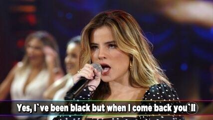 Giulia Be canta 'Rehab'