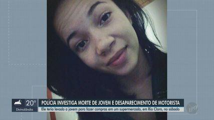 Polícia investiga morte de jovem e desaparecimento de motorista de aplicativo em Rio Claro