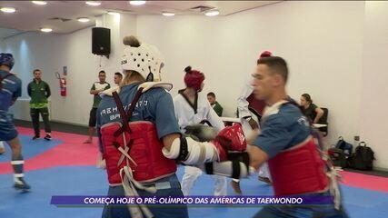 Brasil tem quatro representantes no pré-olímpico das Américas de Taekwondo