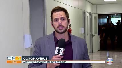 Ministério da Saúde anuncia medidas para combater o coronavírus