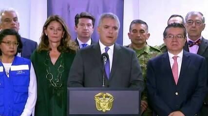 Covid-19: Colômbia fecha fronteiras com a Venezuela