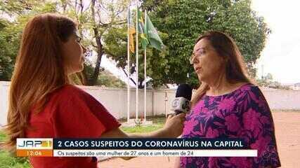 Governo do AP notifica um caso suspeito do novo coronavírus; prefeitura monitora mais um