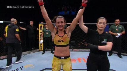 Melhores momentos de Amanda Ribas x Randa Markos no UFC Brasília