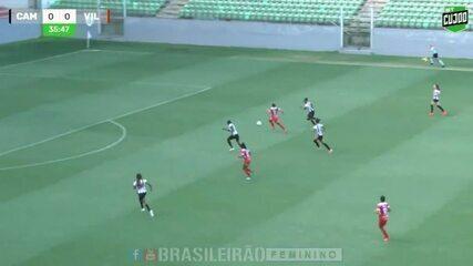 Melhores momentos de Atlético-MG 0 x 0 Vila Nova-ES, pela Série A-2 Brasileirão Feminino