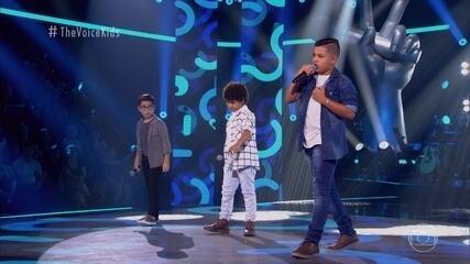 "Adryel Freitas, Lucas Mohallem e Matheus Freitas cantam ""Volta Pra Mim"""