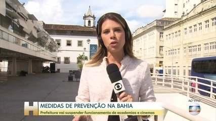 Várias capitais do país anunciaram medidas para prevenir a Covid-19
