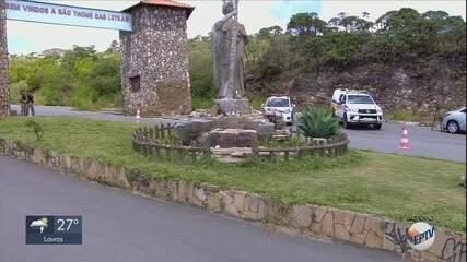 São Tomé das Letras suspende entrada de turistas por 30 dias