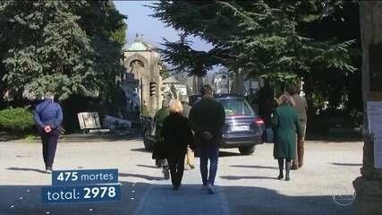 Itália registra 475 mortes por covid-19 em um único dia