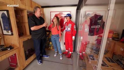 Confira a entrevista na íntegra de Daiane Fardin com os fãs de Ayrton Senna