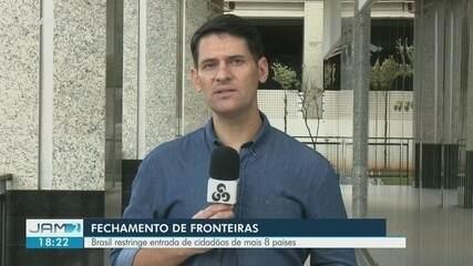 Brasil restringe entrada de cidadãos de mais de 8 países