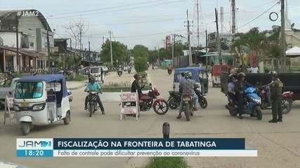 Brasileiros reclamam da falta de fiscalização na fronteira do Brasil