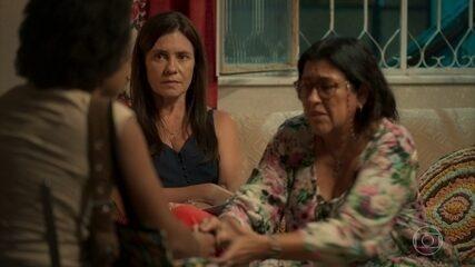 Rita conta a Lurdes sobre Eudésio