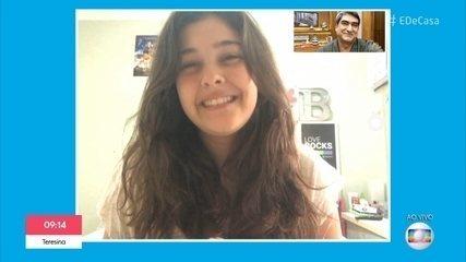 Nicole Orsini comemora aniversário em isolamento